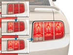 2005-2009 Shelby Sequential Tail Light Kit (Non-Programmable)