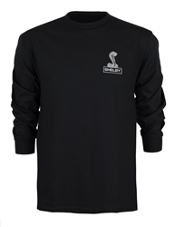 Shelby Snake Black Long Sleeve Tee