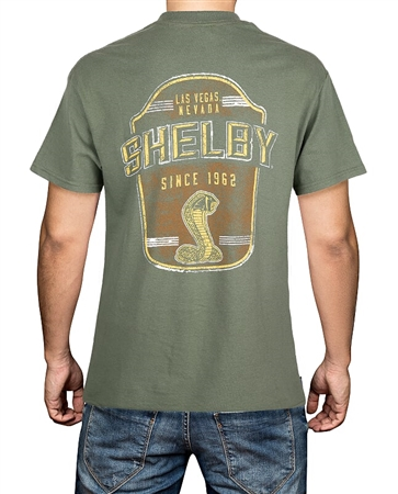 Shelby Las Vegas Military Green Tee