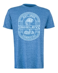 Shelby American Est 1962 Cabo Blue Tee