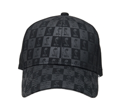 Shelby Checkered Black on Black Hat