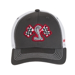 Youth Racing Flags Grey Hat