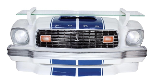 Display Shelves For Collectibles >> '76 Ford Mustang Cobra Light Up Wall Shelf