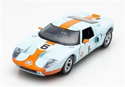 1:24 Ford GT Concept #6 Gulf Light Blue Diecast