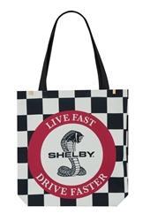 Live Fast, Drive Faster Tote Bag