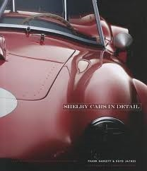 Shelby Cars in Detail Book