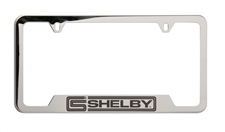 Polished Stainless Steel Shelby License Plate Frame