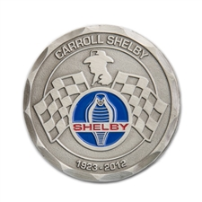 Carroll Shelby Satin Challenge Coin