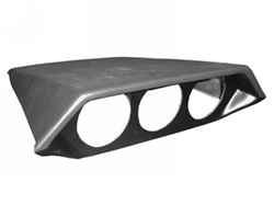 Shelby Gauge Pod: Blank with holes drilled (2005-2009)