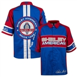 Shelby American Red and Blue Pit Shirt