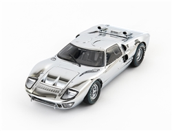 1:18 1966 Ford GT40 Chrome Edition Diecast