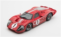 1:18 1967 #1 Ford MK IV Le Mans 24 hour Diecast
