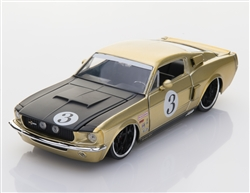 1:24 1967 #3 Gold Shelby GT500 Diecast