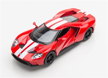 1:38 2017 Red Ford GT Diecast