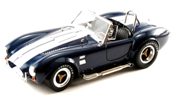 1:18 Blue w/ White Stripe Cobra 427 S/C Diecast