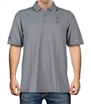 Oxford Pique Dark Grey Polo
