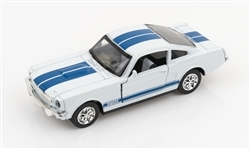 1:32 1966 White Shelby GT350 Diecast