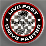 Live Fast, Drive Faster Light Box
