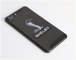 Shelby Snake Black Carbon Fiber Phone Case
