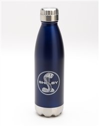 17 oz Stainless Steel Navy Water Bottle