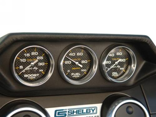 Shelby American Gauge Pod Set (2007-2009)
