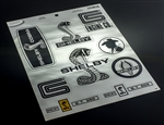 Chrome Sticker Sheet