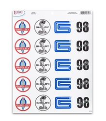 Shelby Logo Sheet