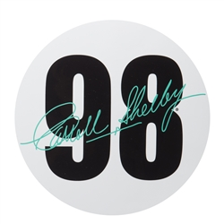 98 Carroll Shelby Signature Decal