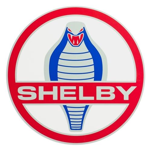 Shelby Cobra Medallion Decal