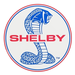 Shelby Super Snake Round Decal