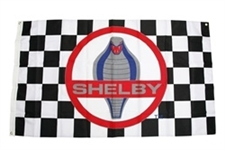 Shelby Cobra Checkered Flag