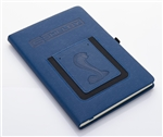 Shelby Blue Journal with Phone Pocket