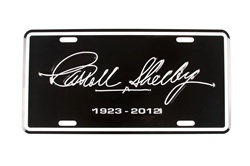 Carroll Shelby 1923-2012 License Plate