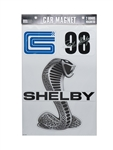 Super Snake Car Magnet