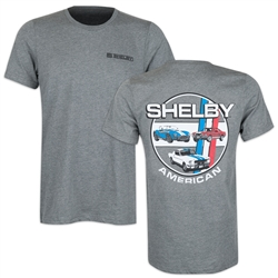 Shelby American Cars Grey Tee