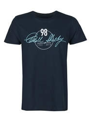 98 Carroll Shelby Signature Black Tee