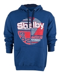 Shelby American Performance Denim Stripe Pullover Hoody
