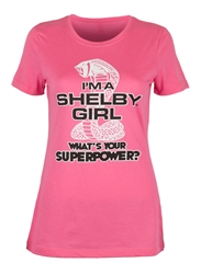 "Ladies ""What's Your Superpower"" Tee"