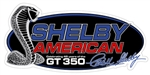 Shelby American GT350 Oval Metal Sign