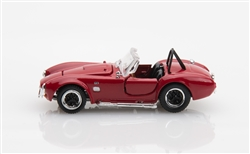1:64 Red Shelby Cobra 427 S/C Diecast