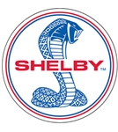 Shelby Snake Disc Metal Sign