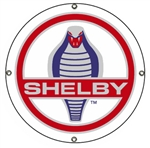 Shelby Cobra Disc Metal Sign