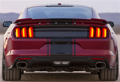 2015 2019 Mustang Carbon Fiber Tail Light Panel