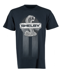 Steel Plate Shelby Navy Tee