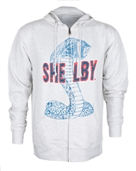 Shelby Applique Oatmeal Zip Up Hoody