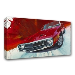 1969 Red GT500 Canvas Art