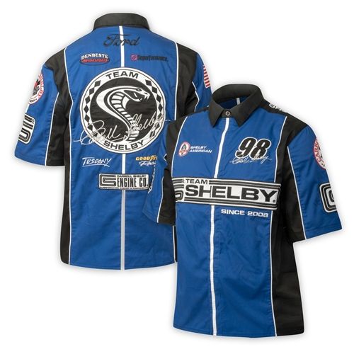 Ford Racing Apparel >> Team Shelby Pit Shirt