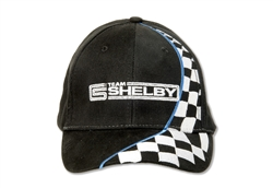Team Shelby Black Checkered Race Hat