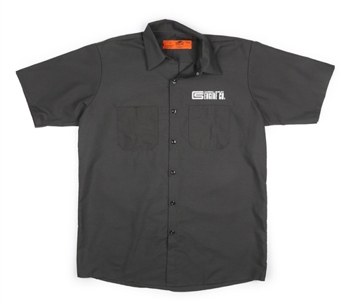 Red kap cs engine co mechanic charcoal shirt for Red kap mechanic shirts