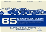 Carroll Shelby 2015 Tribute Poster